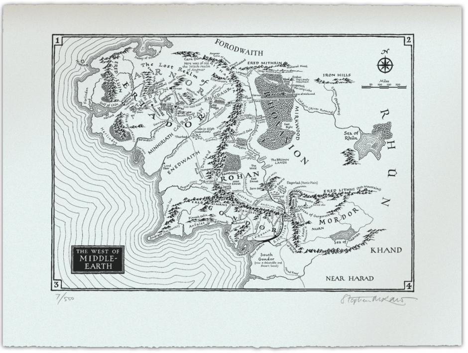 British Library buys Tolkien maps | Stephen Raw